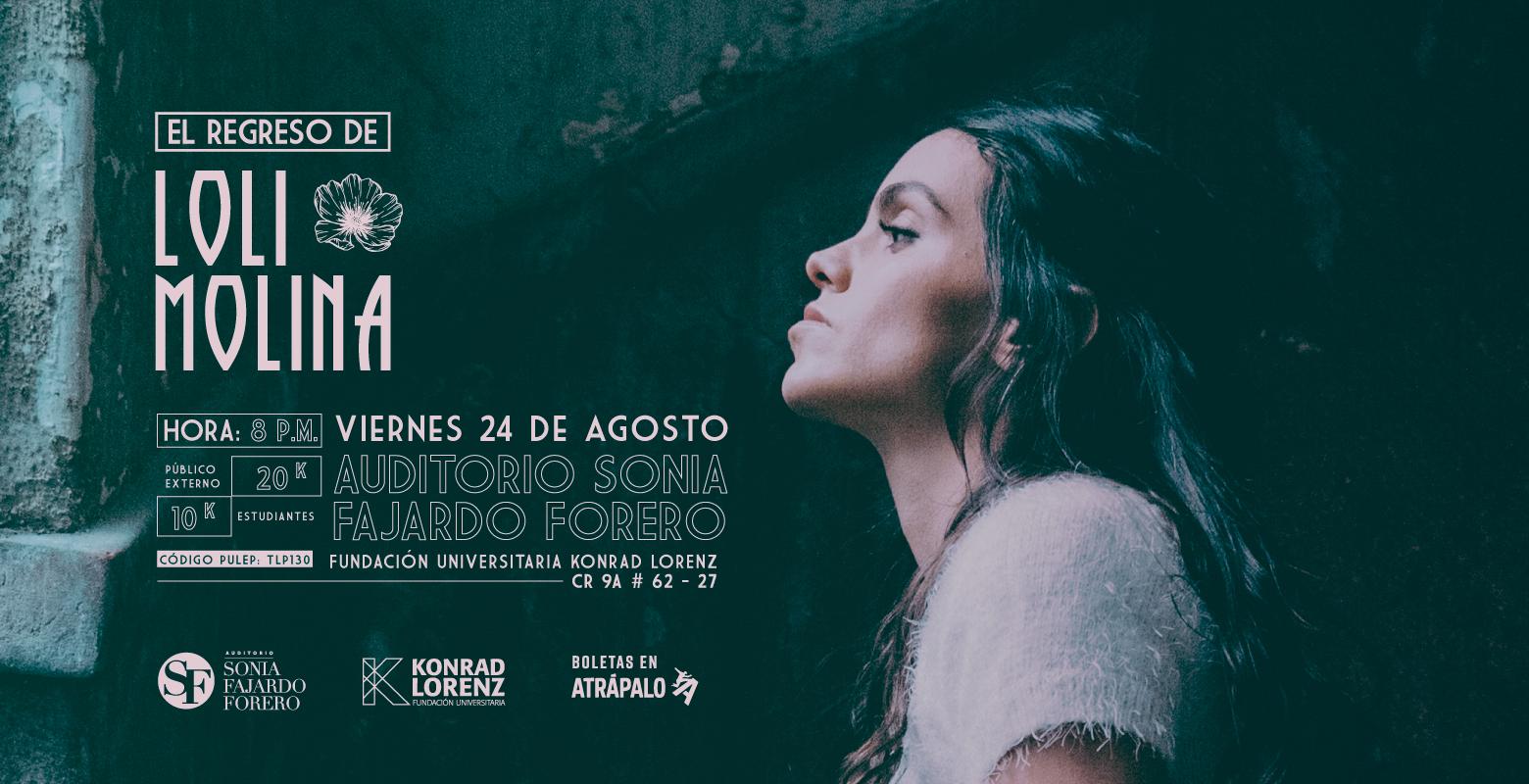 Concierto: El regreso de Loli Molina