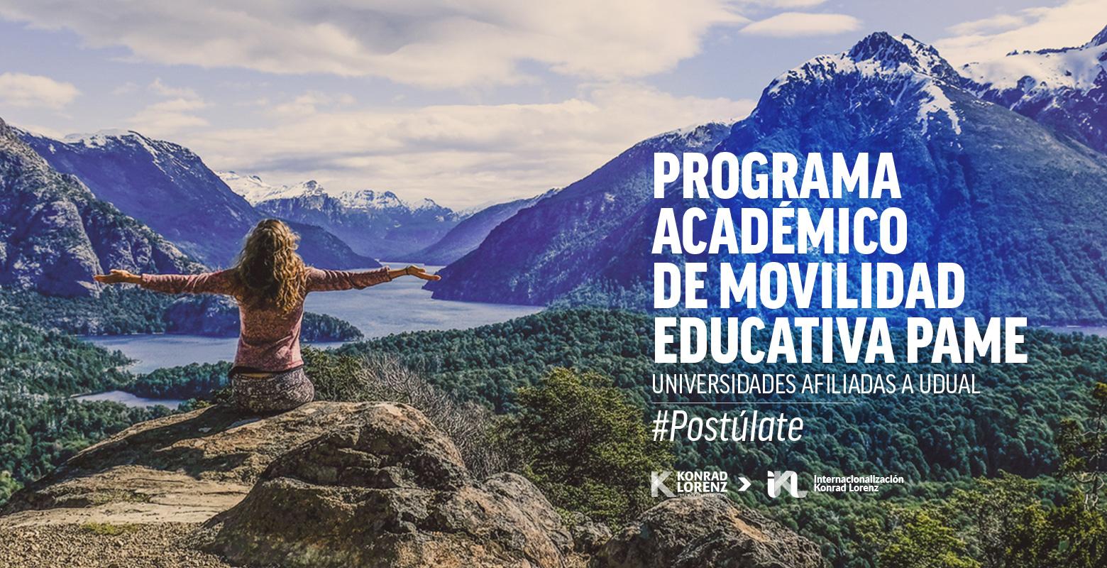 #Postúlate Programa Académico de Movilidad Educativa (PAME)