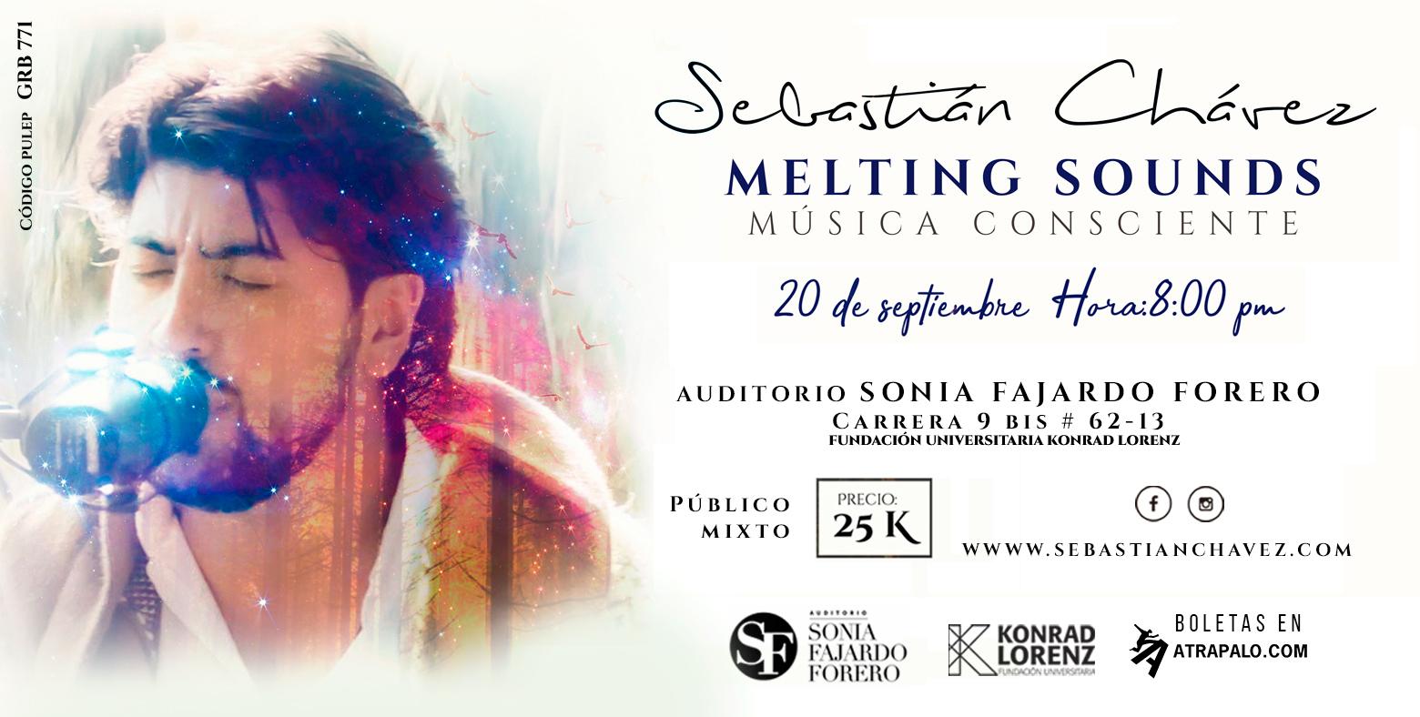 Sebastián Chávez Melting sounds-Música Consciente