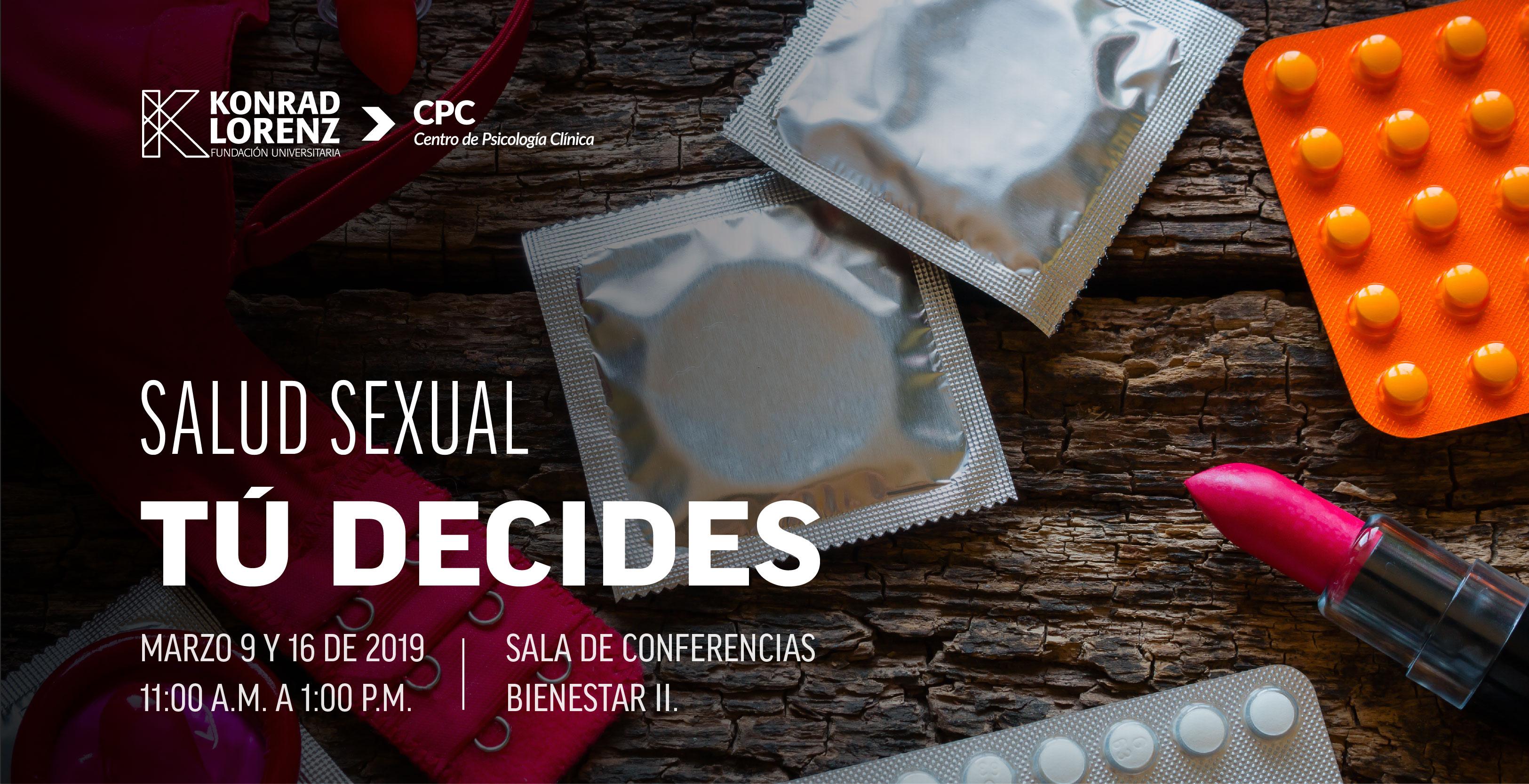 Salud sexual: Tú decides