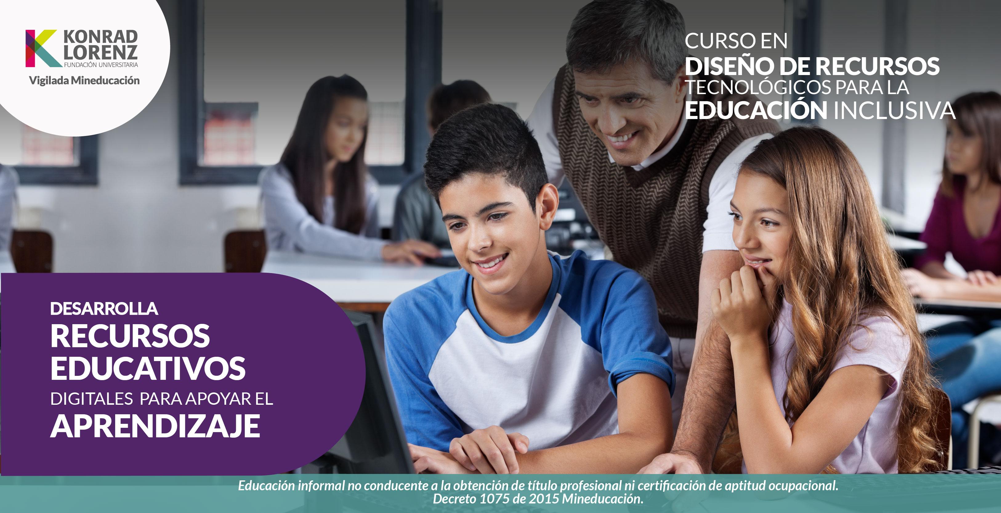 Diseño de Herramientas Tecnologicas para Educacion Inclusiva