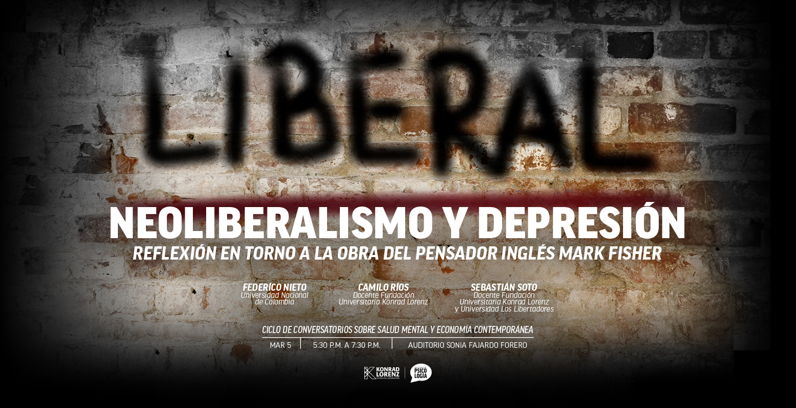 Neoliberalismo y depresión - Segundo Conversatorio
