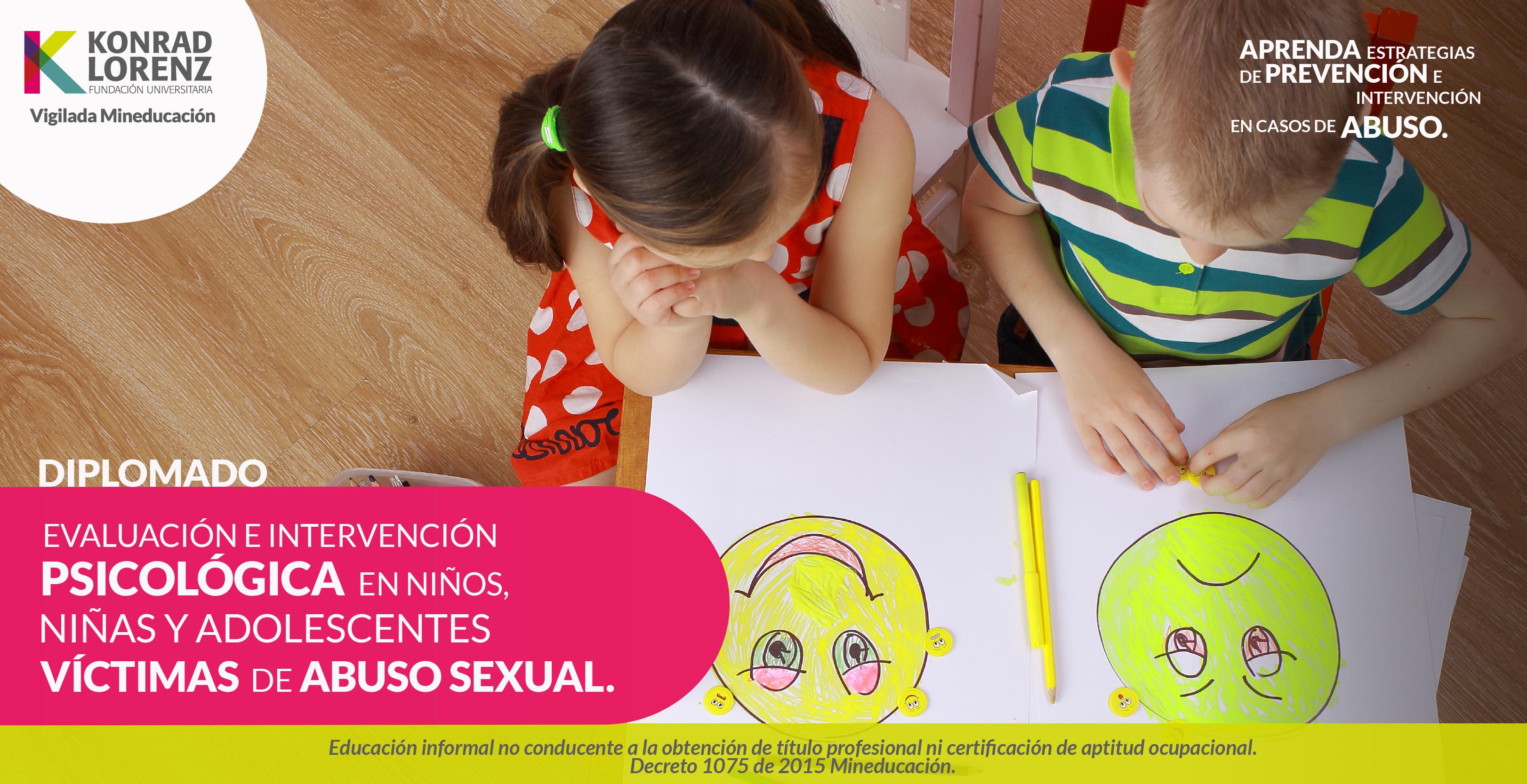 Evaluación e intervención psicológica en niños, niñas y adolescentes víctimas de abuso sexual