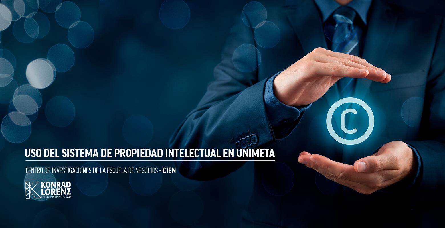 Uso del sistema de propiedad intelectual en Unimeta