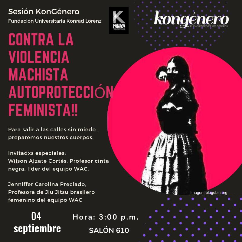 Sesión autoproteccion feminista