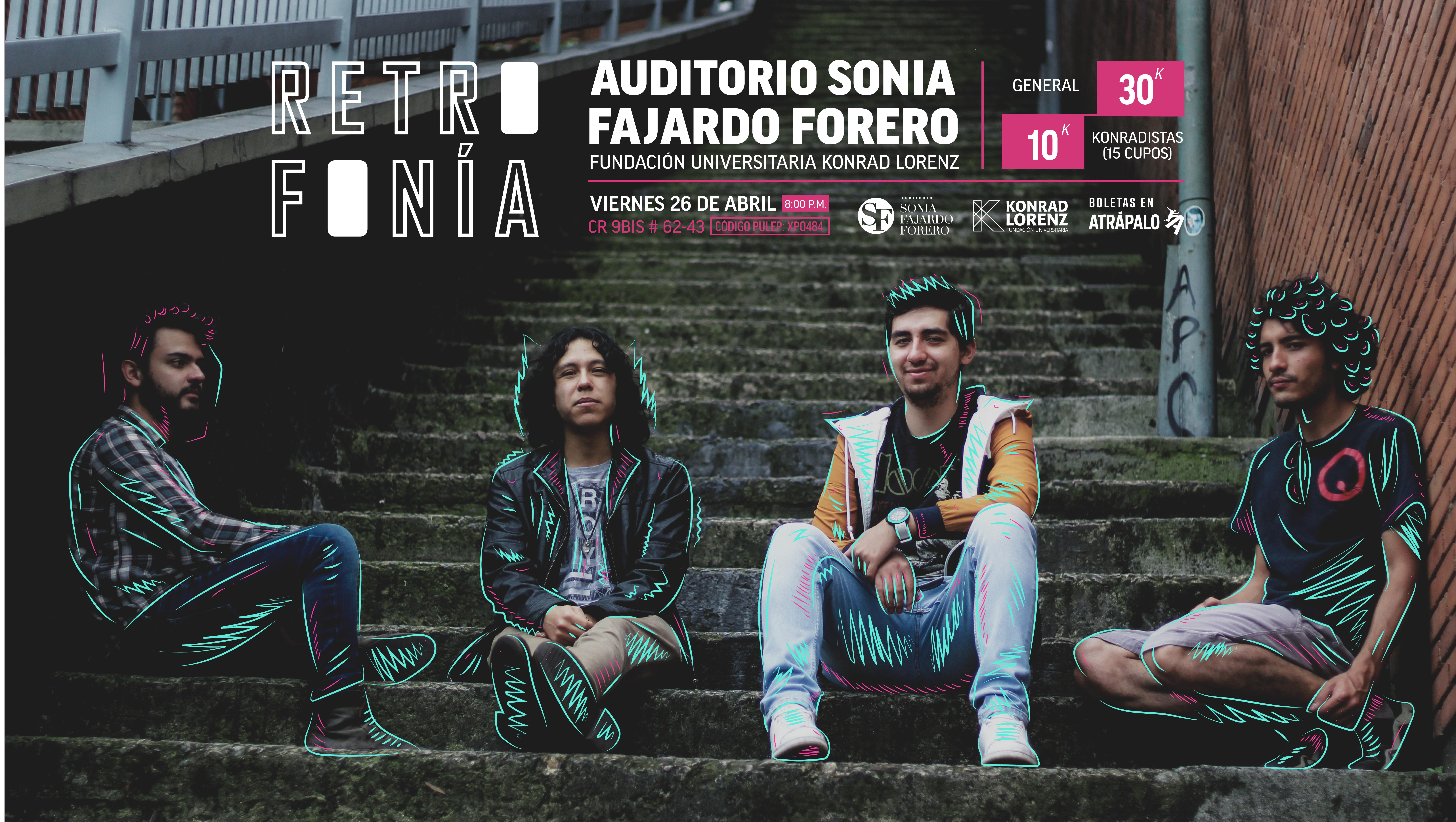 Banda Retrofonía, lanzamiento de Disco