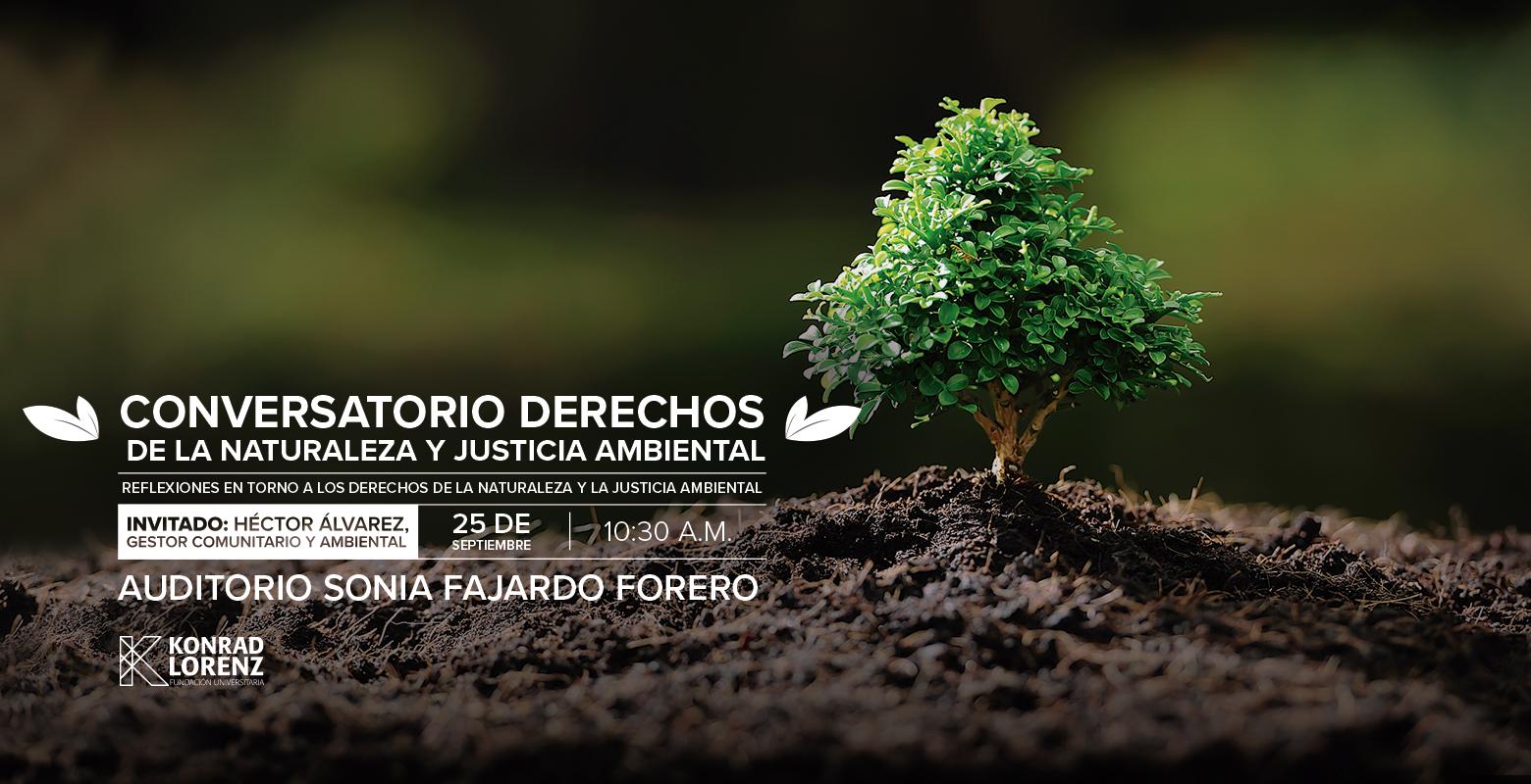 Conversatorio: Derechos de la naturaleza y justicia ambiental