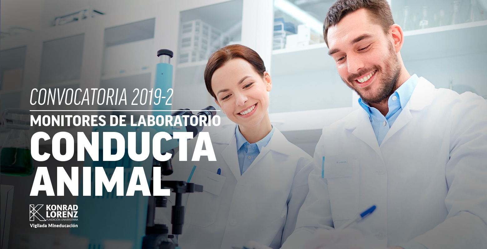 Convocatoria para monitores del Laboratorio de Conducta Animal 2019-2