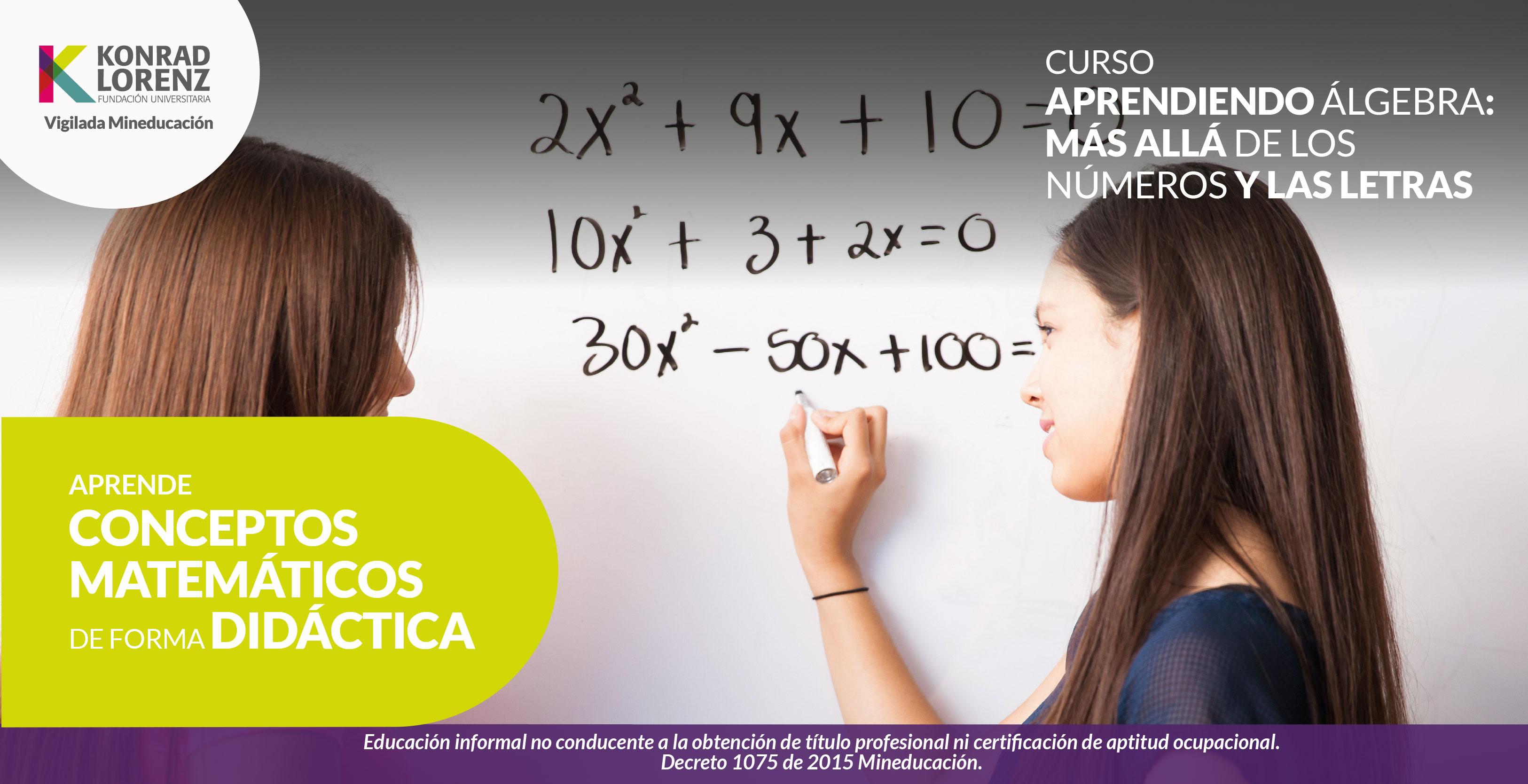 Aprendiendo álgebra: Más allá de los números y las letras