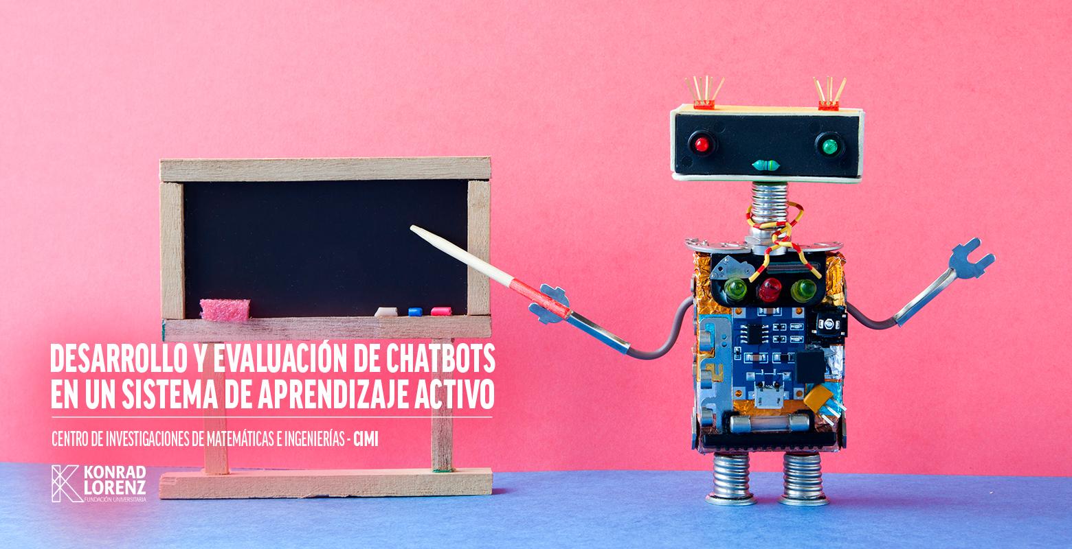 Desarrollo y evaluación de chatbots en un sistema de aprendizaje activo