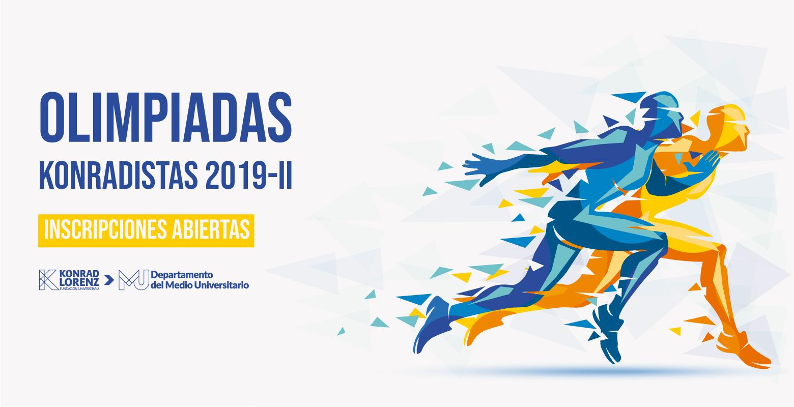 Prográmate e inscríbete en las Olimpiadas Konradistas 2019-II