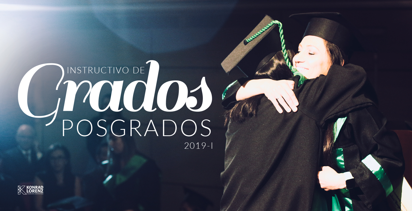 Instructivo de Grados 2019-1 Posgrados