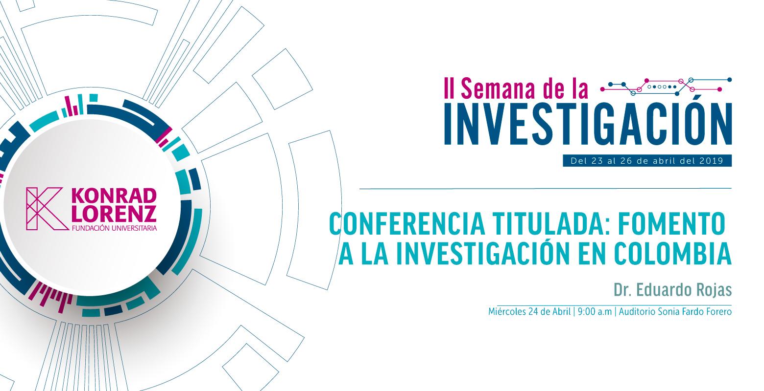 Fomento a la investigación en Colombia