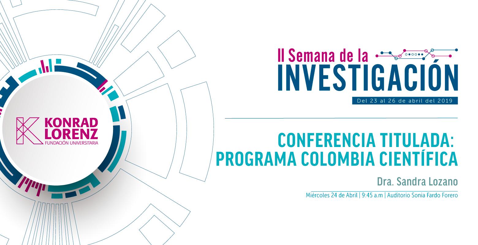 Programa Colombia Científica - Convocatorias Ecosistema