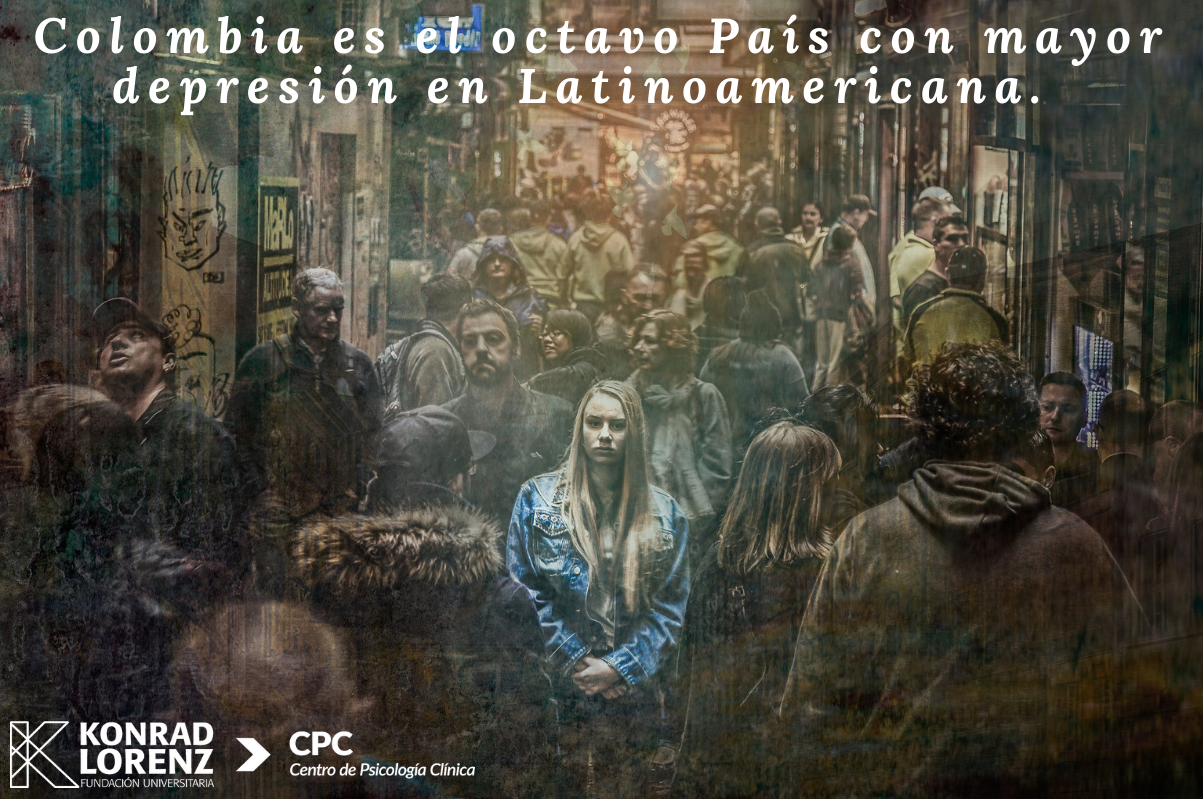 Colombia es el octavo país con más gente deprimida en América Latina