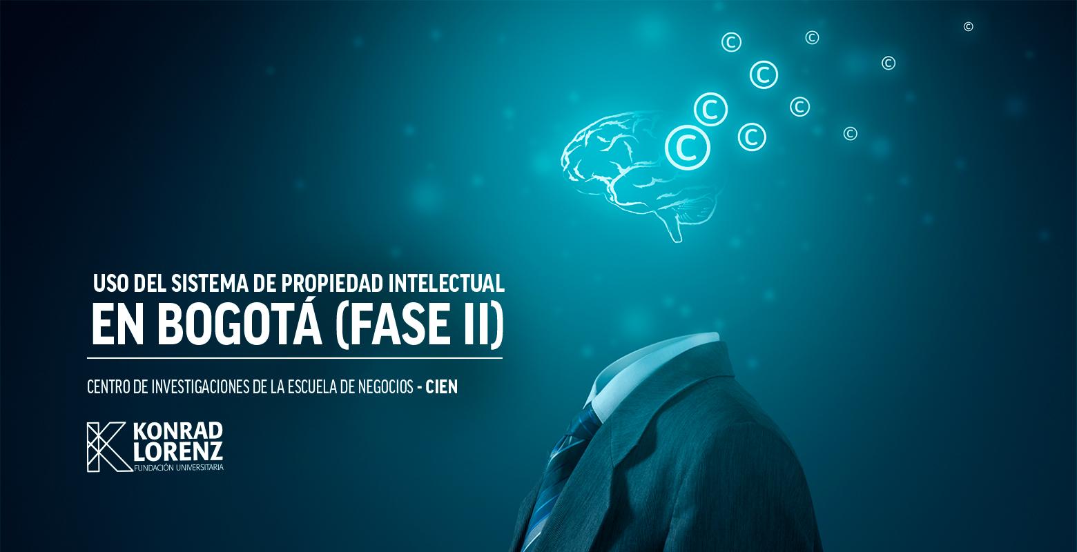 Uso del sistema de propiedad intelectual en Bogotá (Fase II)