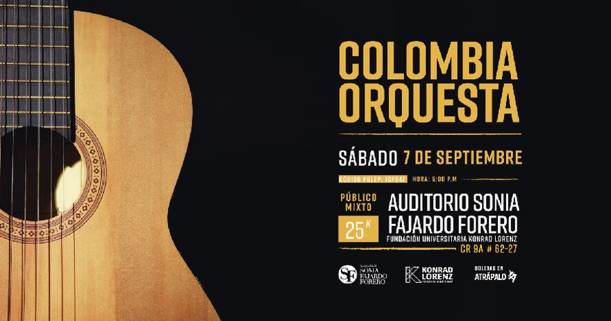Concierto Colombia Orquesta