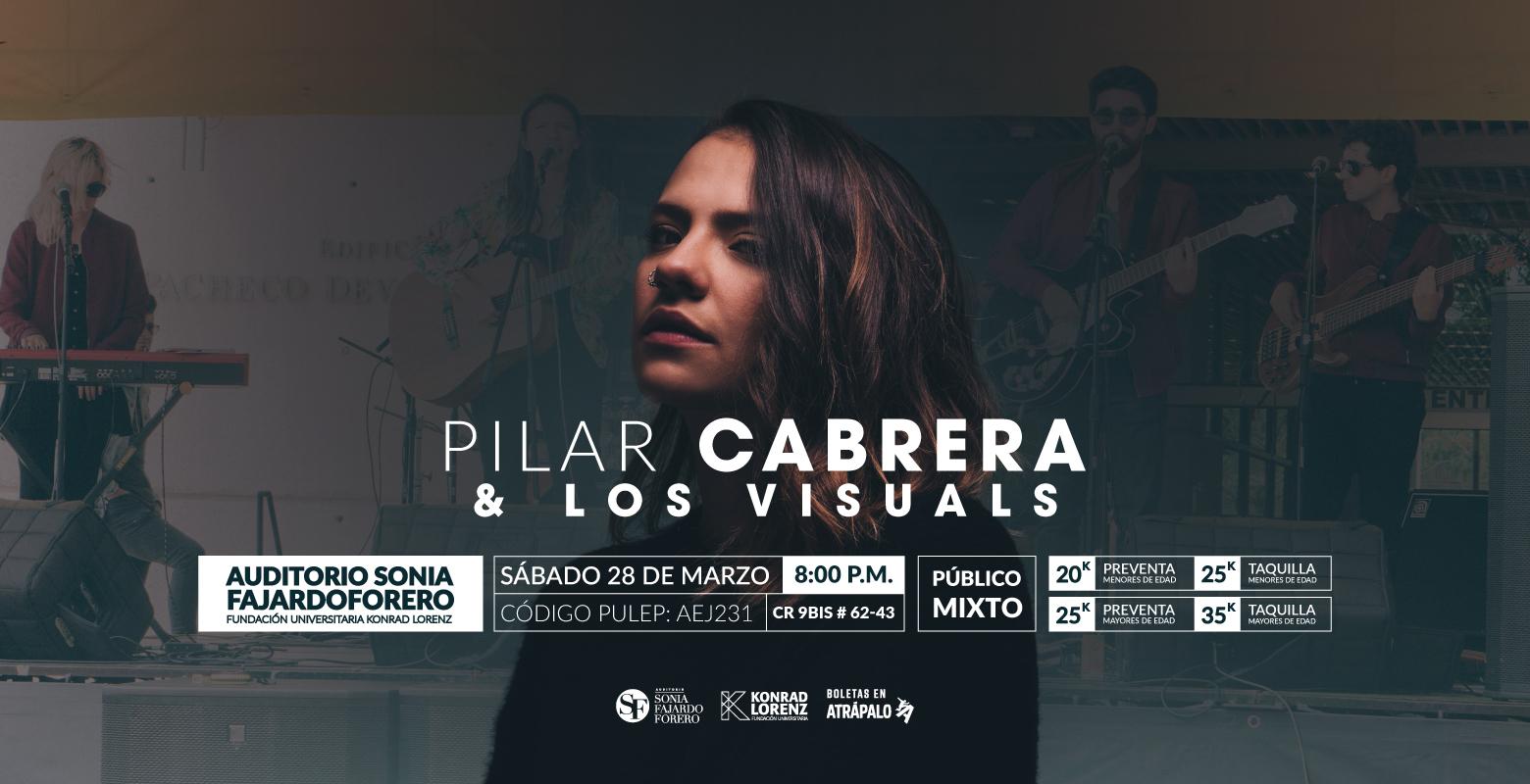 Pilar Cabrera y Los Visuals