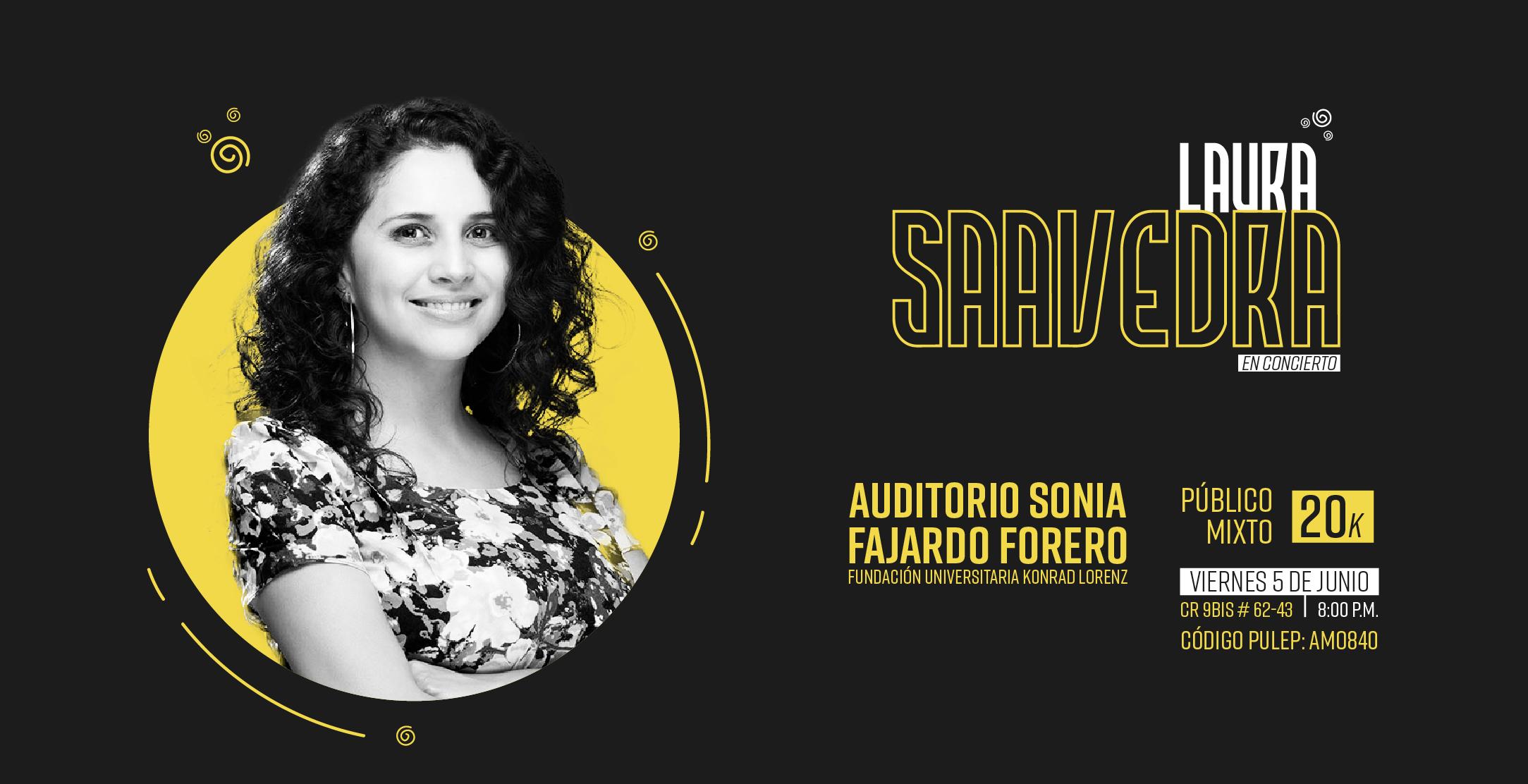 Concierto de Laura Saavedra