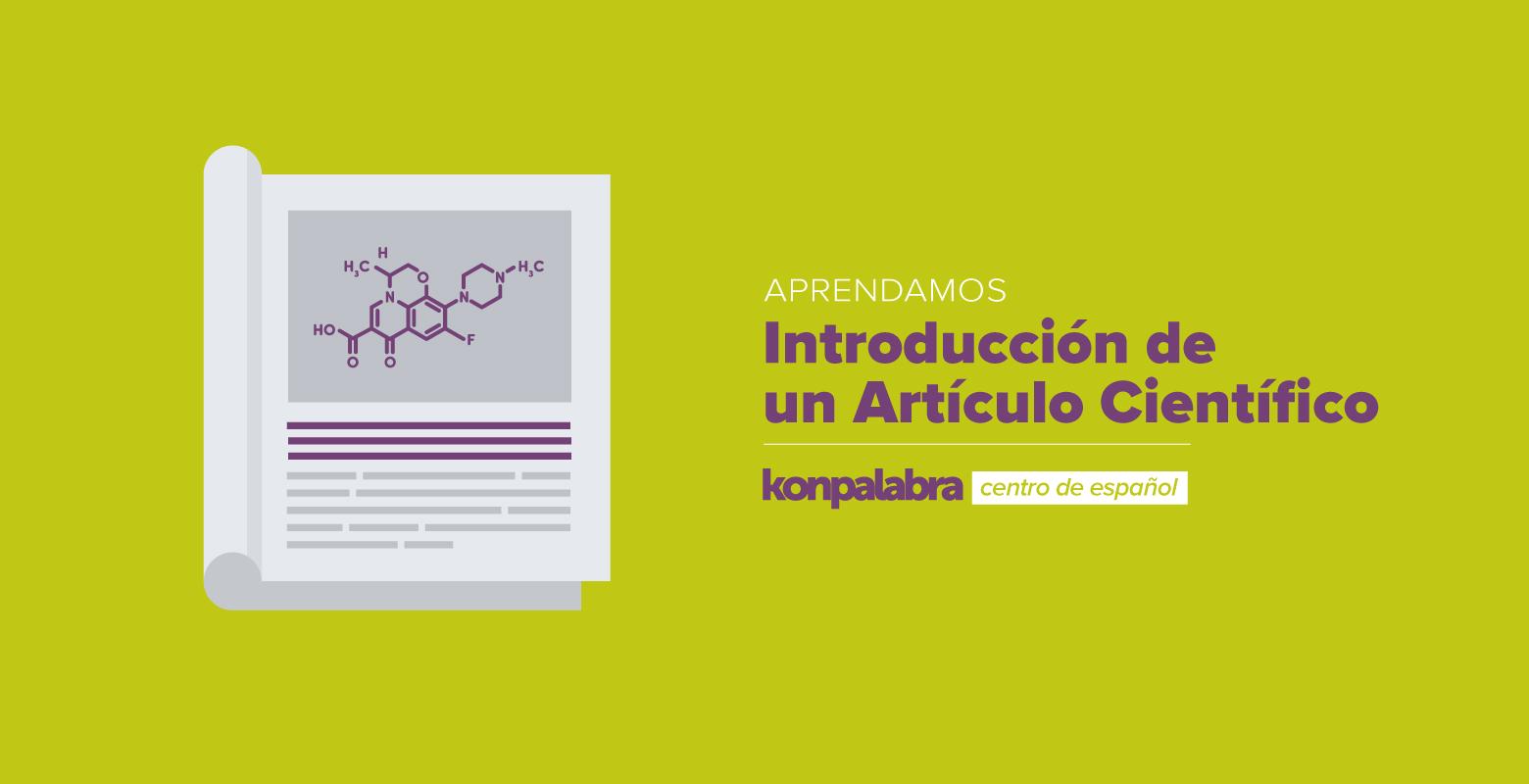 3. El artículo científico. La introducción
