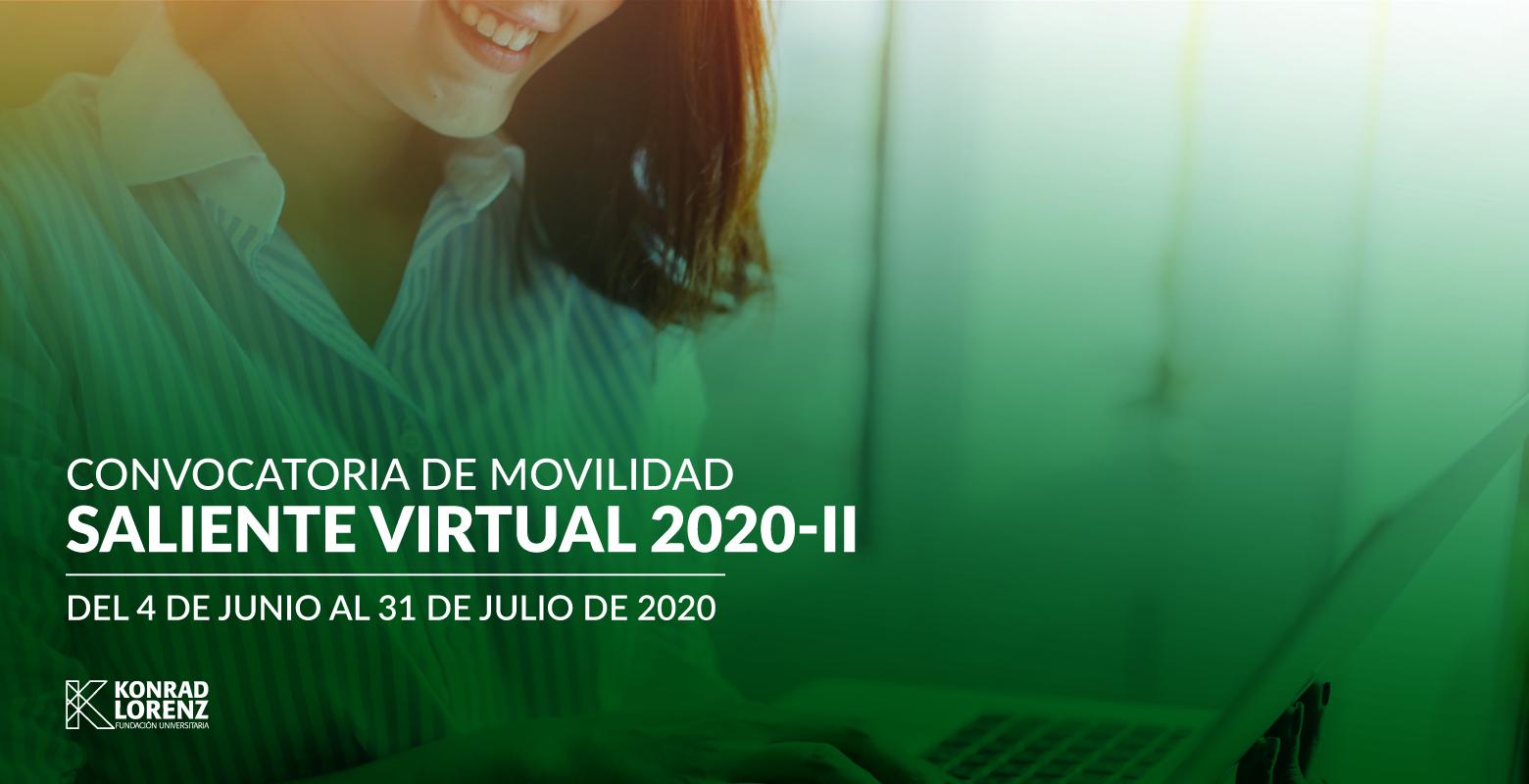 Convocatoria de Movilidad Saliente Virtual 2020-II