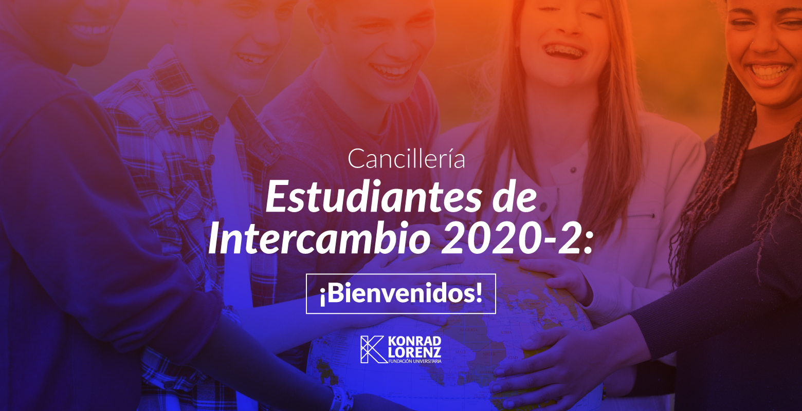Estudiantes de Intercambio 2020-2: ¡Bienvenidos!