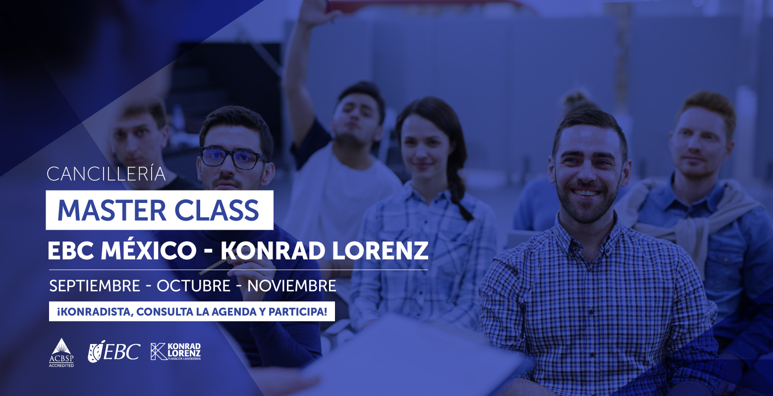 Cancillería: Master Class EBC México - Konrad Lorenz