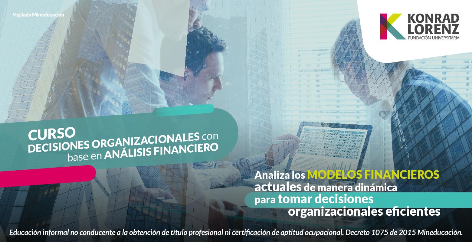 Curso de Decisiones organizacionales con base en Análisis