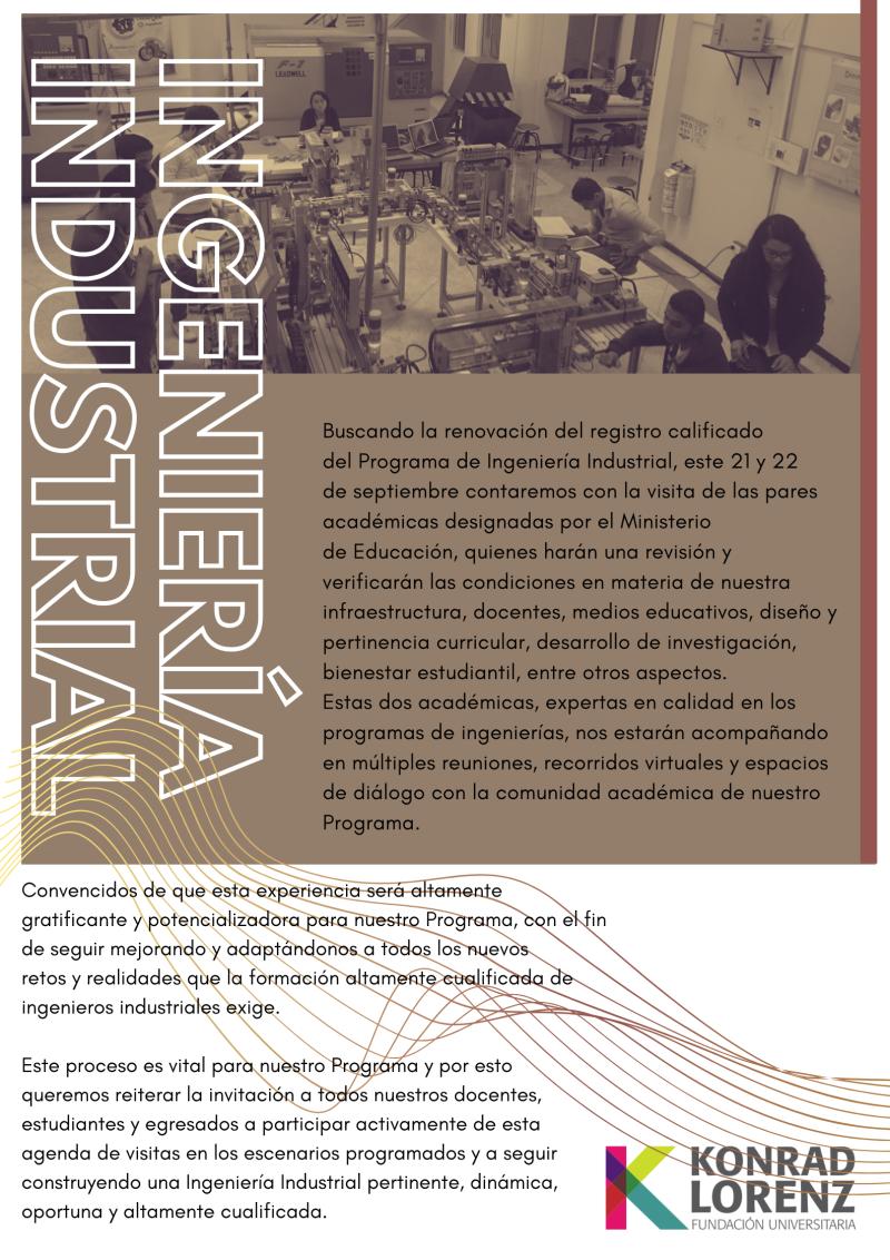 INGENIERÍA INDUSTRIAL poster 2