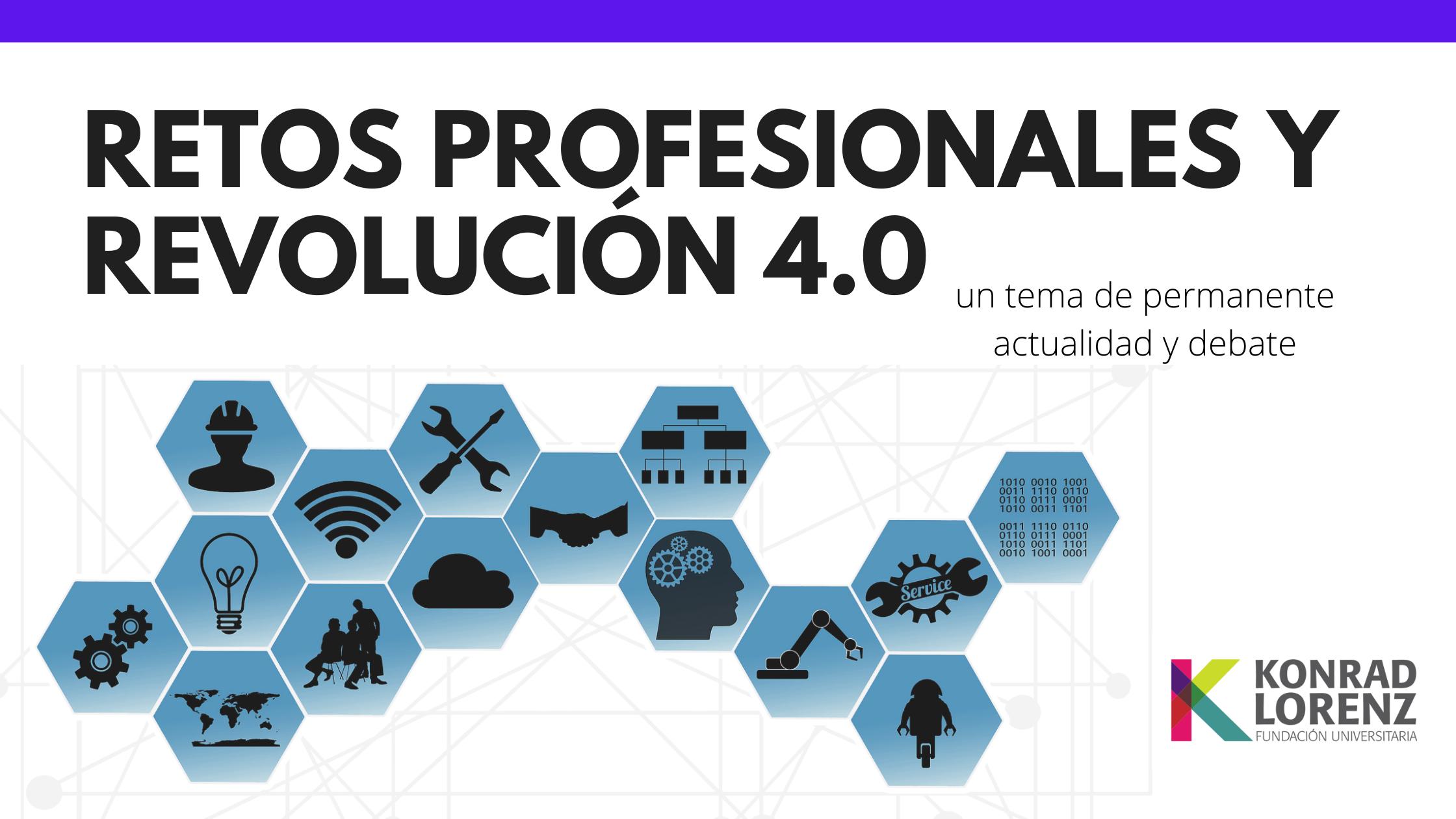 Retos profesionales y revolución 4.0