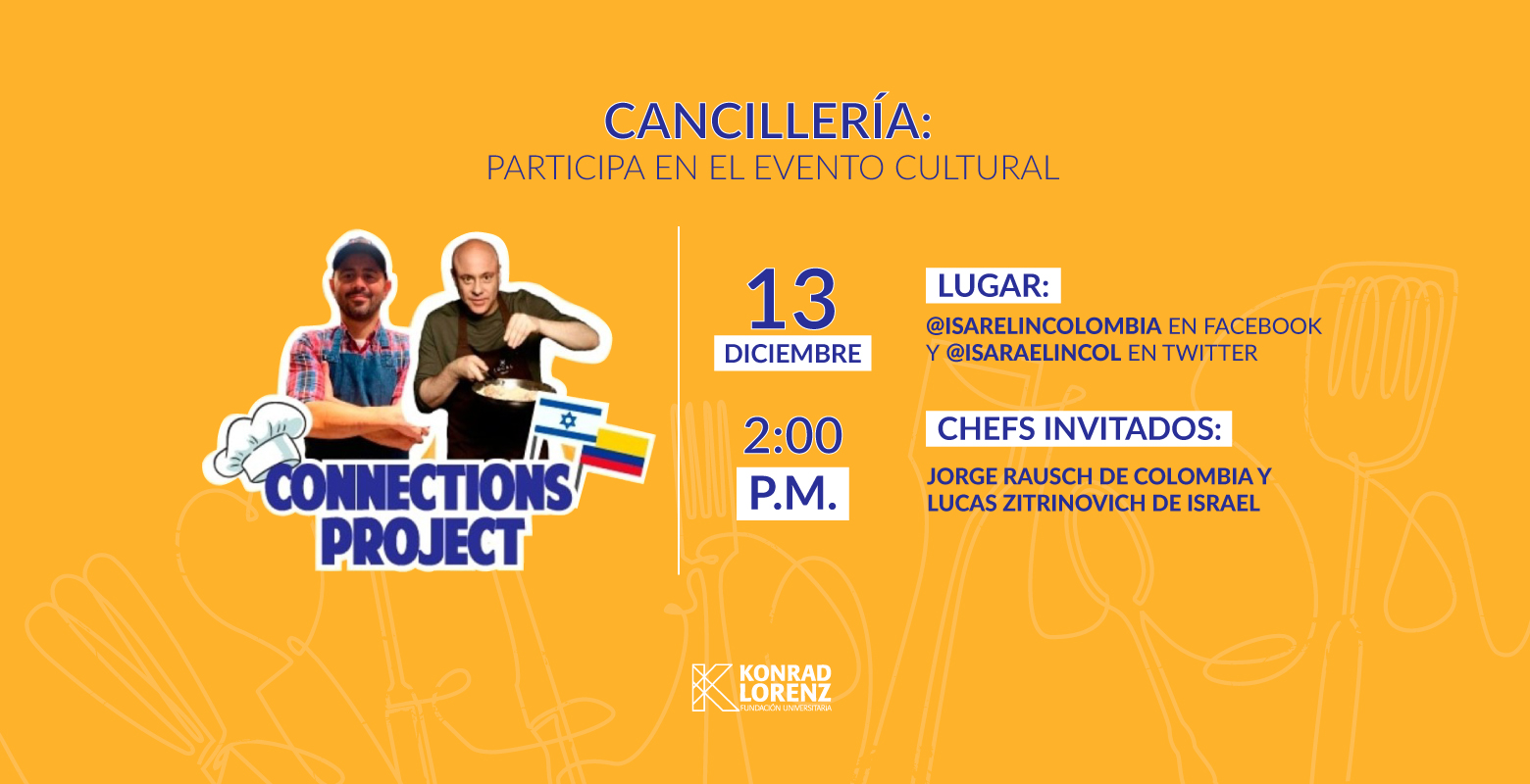 Cancillería: Participa en el Evento Cultural Connections Project