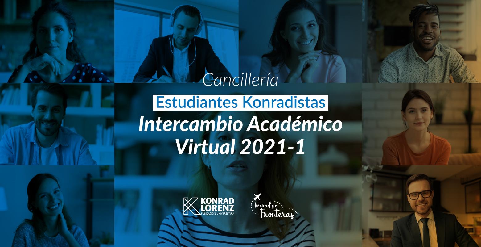 Estudiantes Konradistas de Intercambio Académico Virtual 2021-1