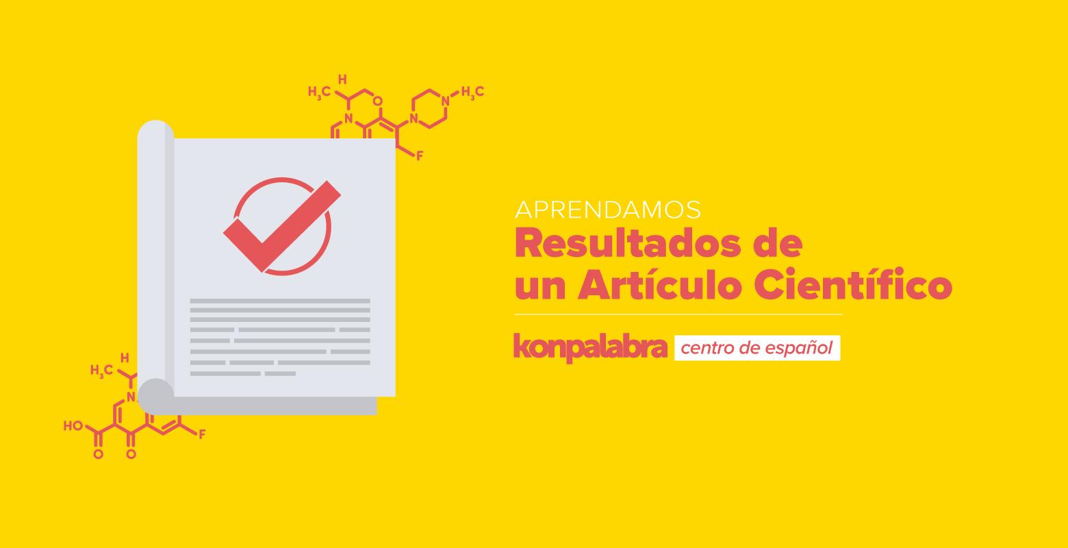 5. El artículo científico. Los resultados