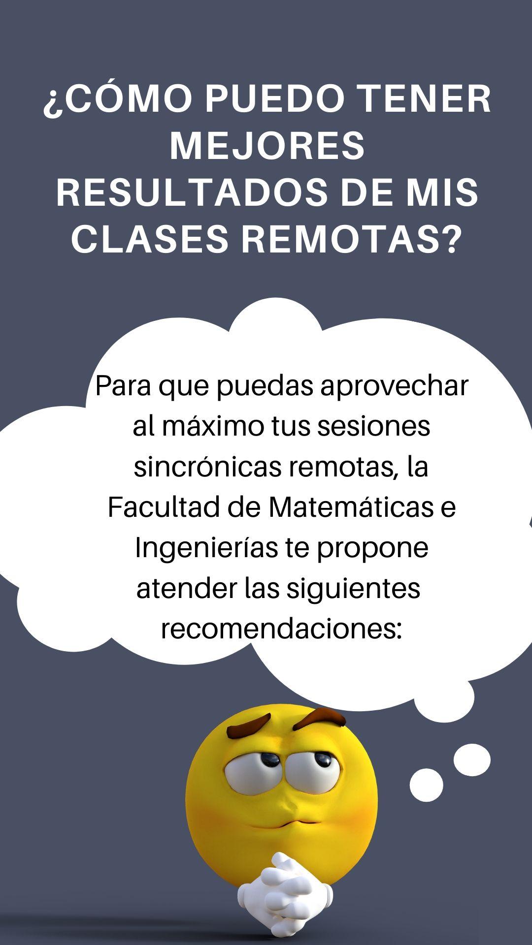 Consejos clases remotas