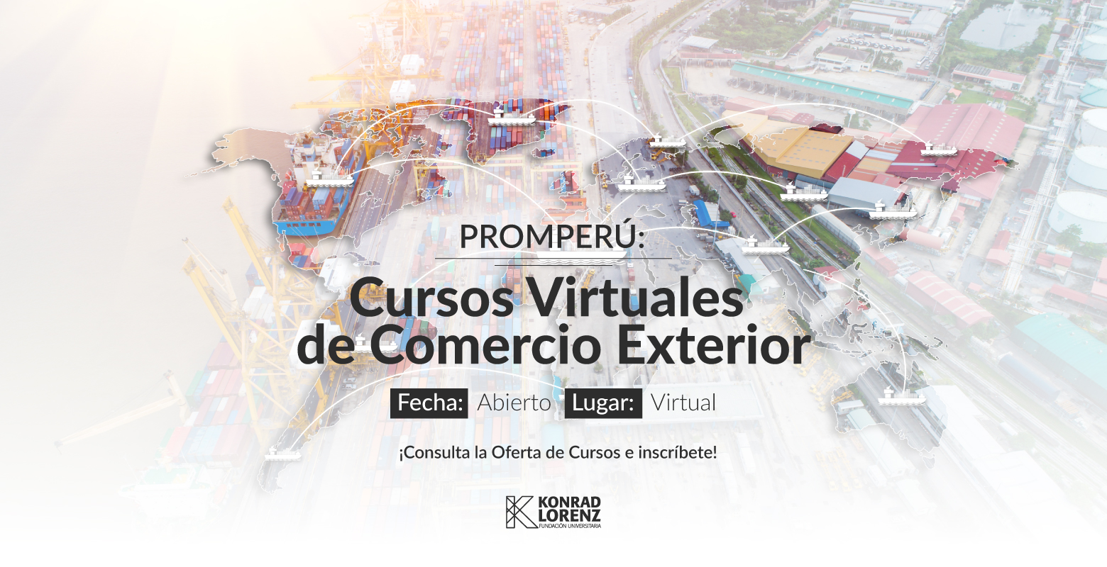 PROMPERÚ: Cursos Virtuales de Comercio Exterior