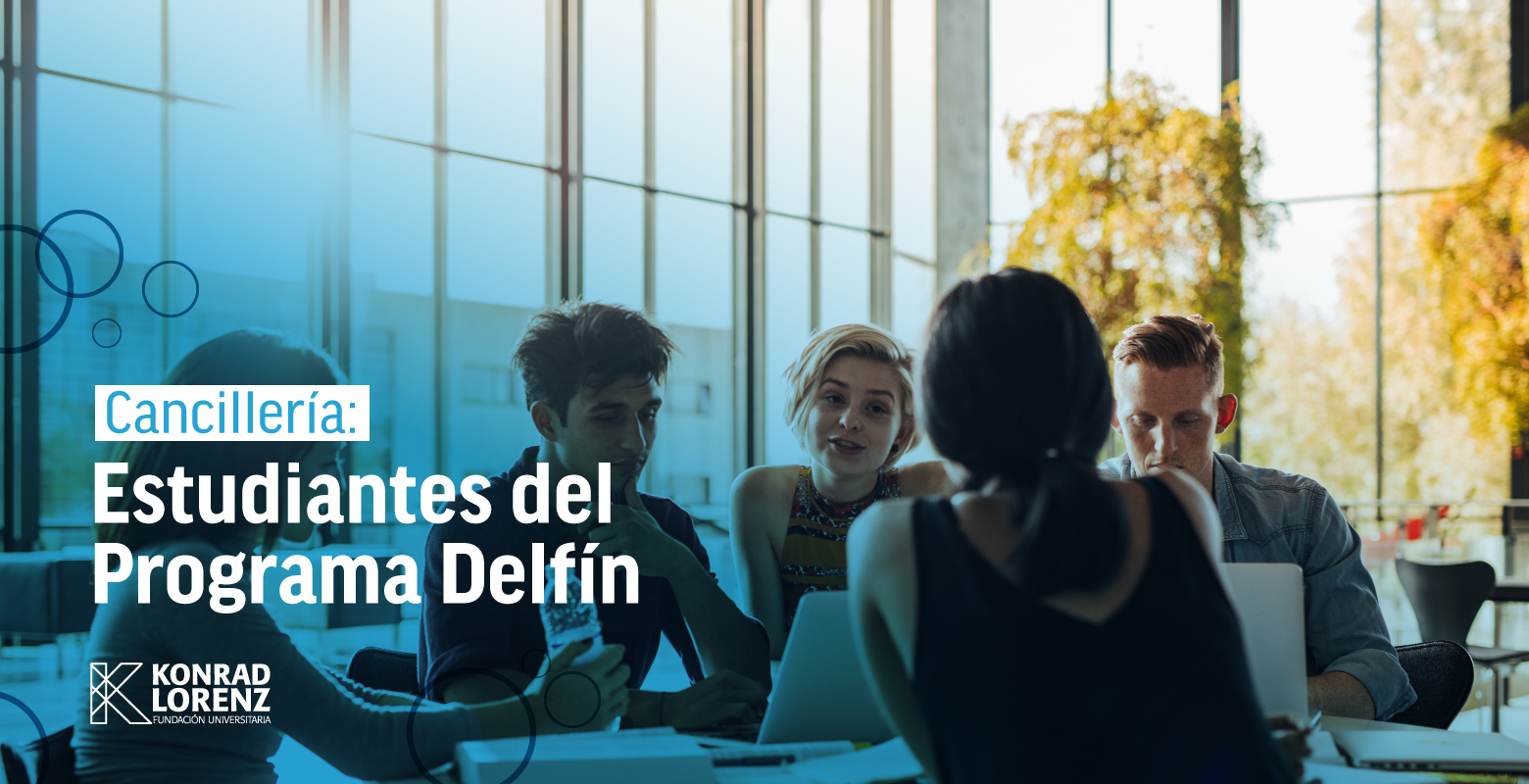 Cancillería: Estudiantes del Programa Delfín