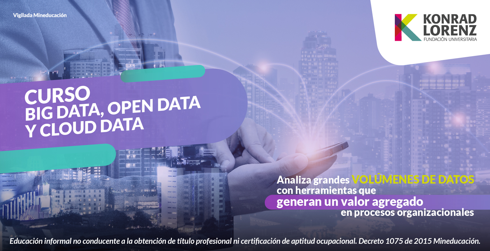Curso de Big Data, Open Data y Cloud Data