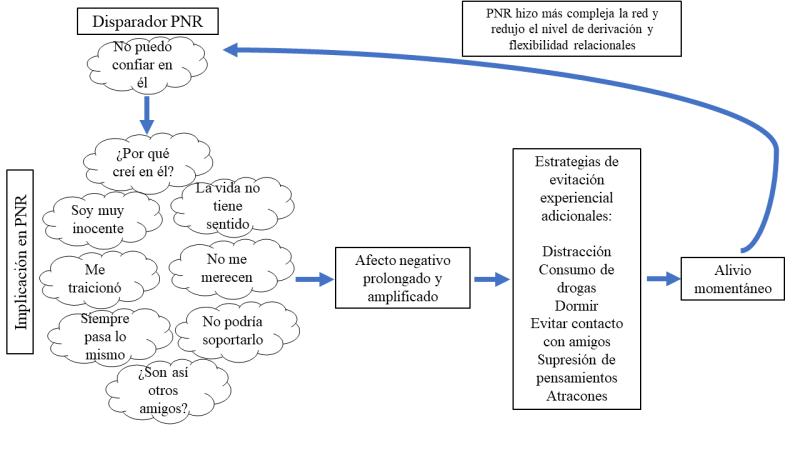 Figura 2. Un bucle vicioso de PNR y sus consecuencias