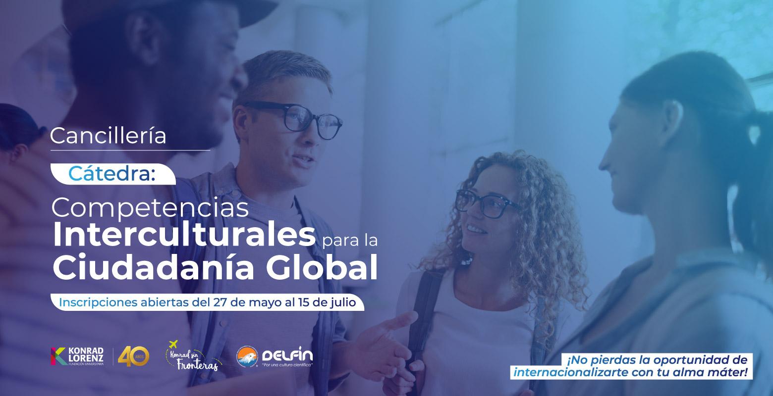 Cátedra: Competencias Interculturales para la Ciudadanía Global