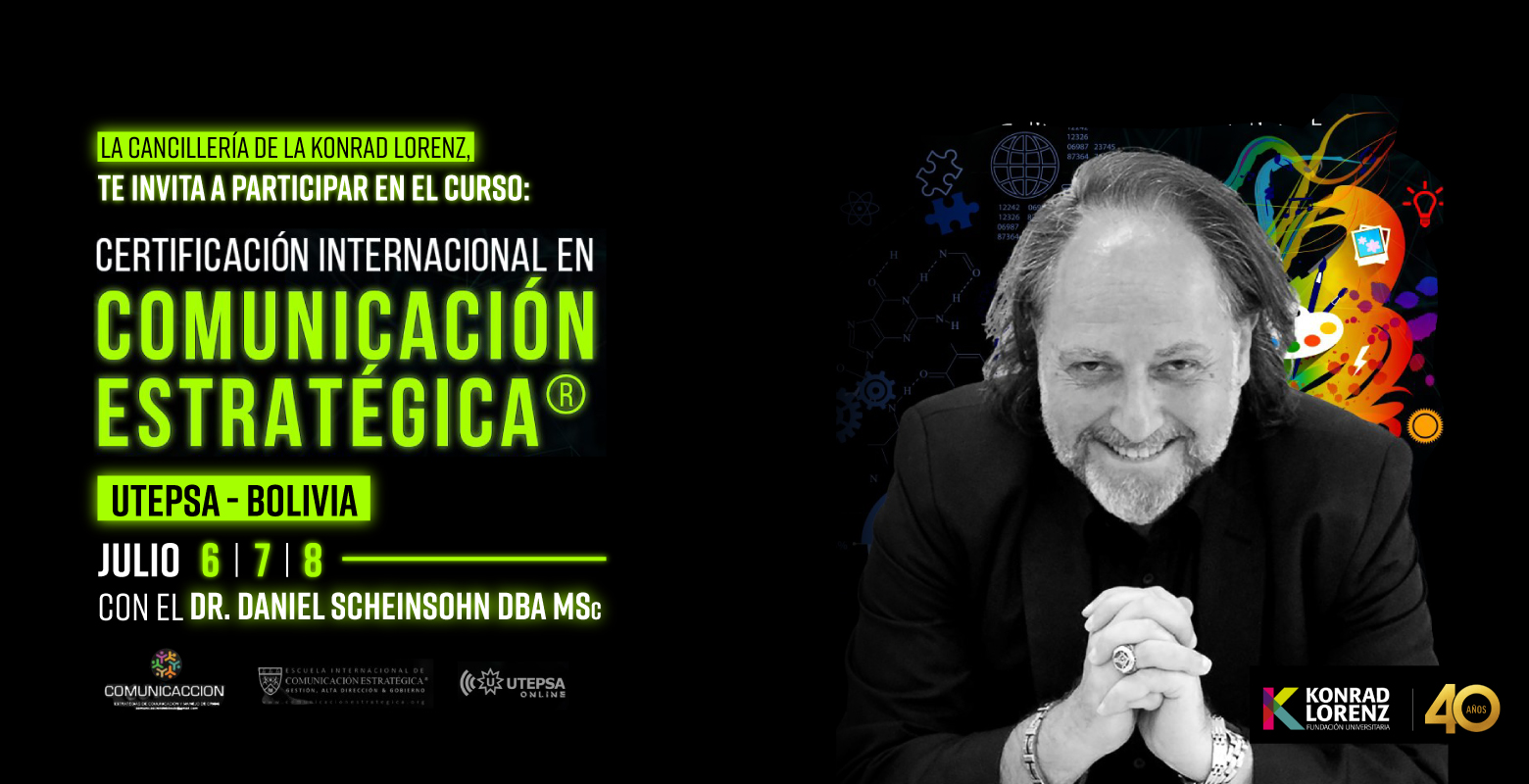 Curso: Certificación Internacional en Comunicación Estratégica de la UTEPSA - Bolivia