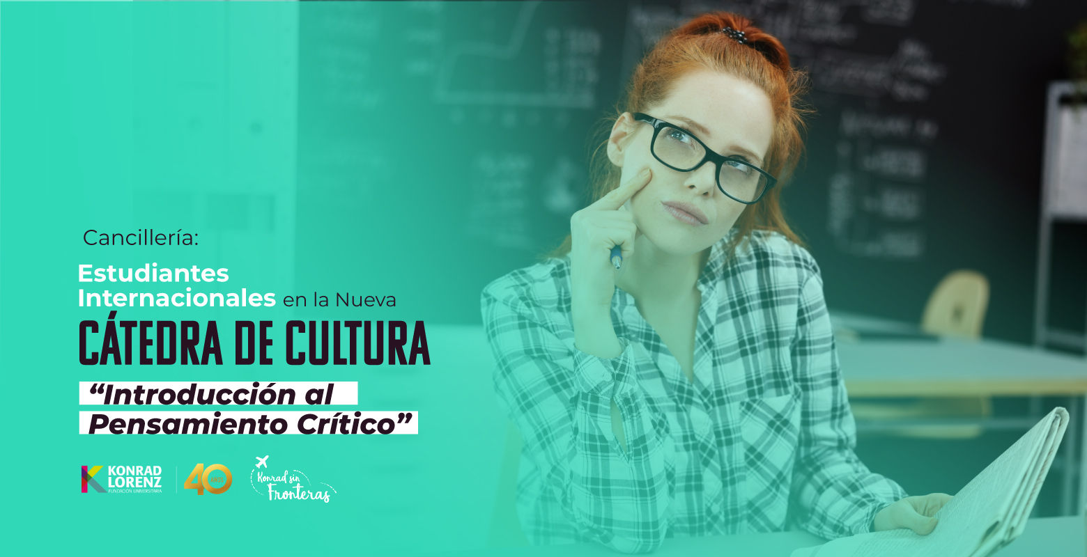 """Cancillería: Estudiantes Internacionales en la Nueva Cátedra de Cultura """"Introducción al Pensamiento Crítico"""""""
