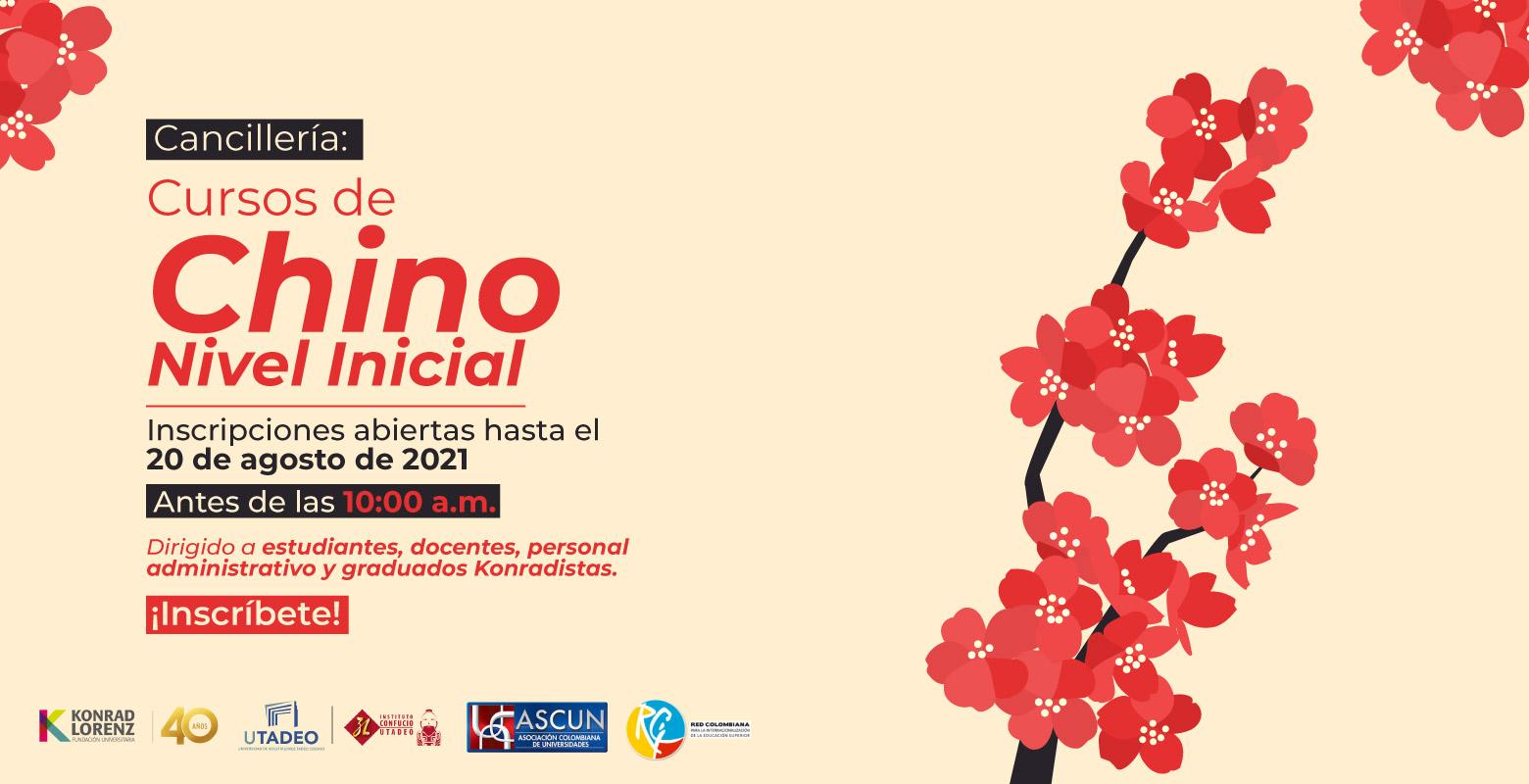 Cancillería: Cursos de Chino Nivel Inicial