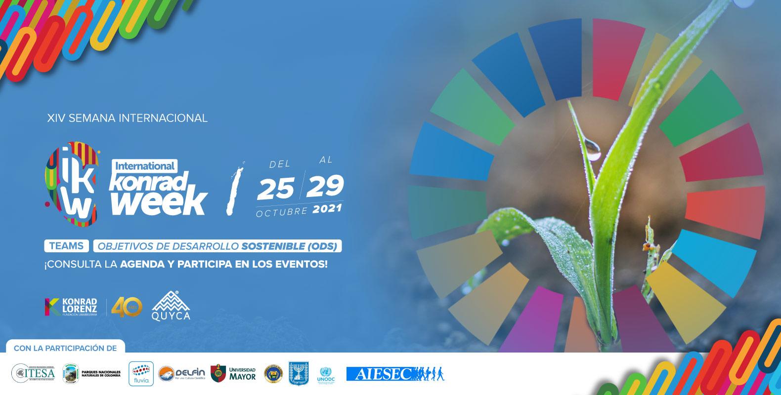 XIV Semana Internacional - International Konrad Week 2021 Objetivos de Desarrollo Sostenible (ODS)