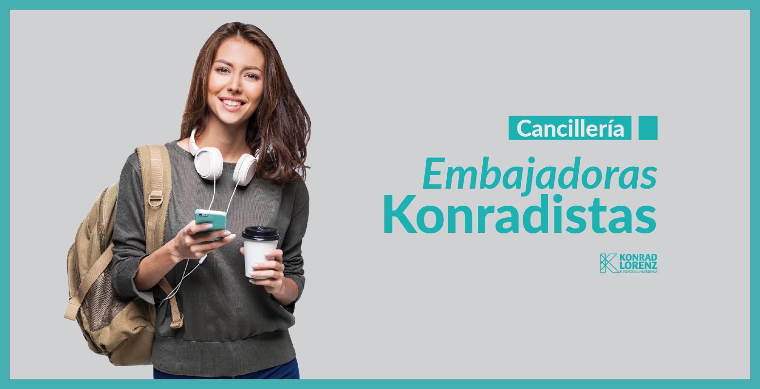 Cancillería: Embajadoras Konradistas