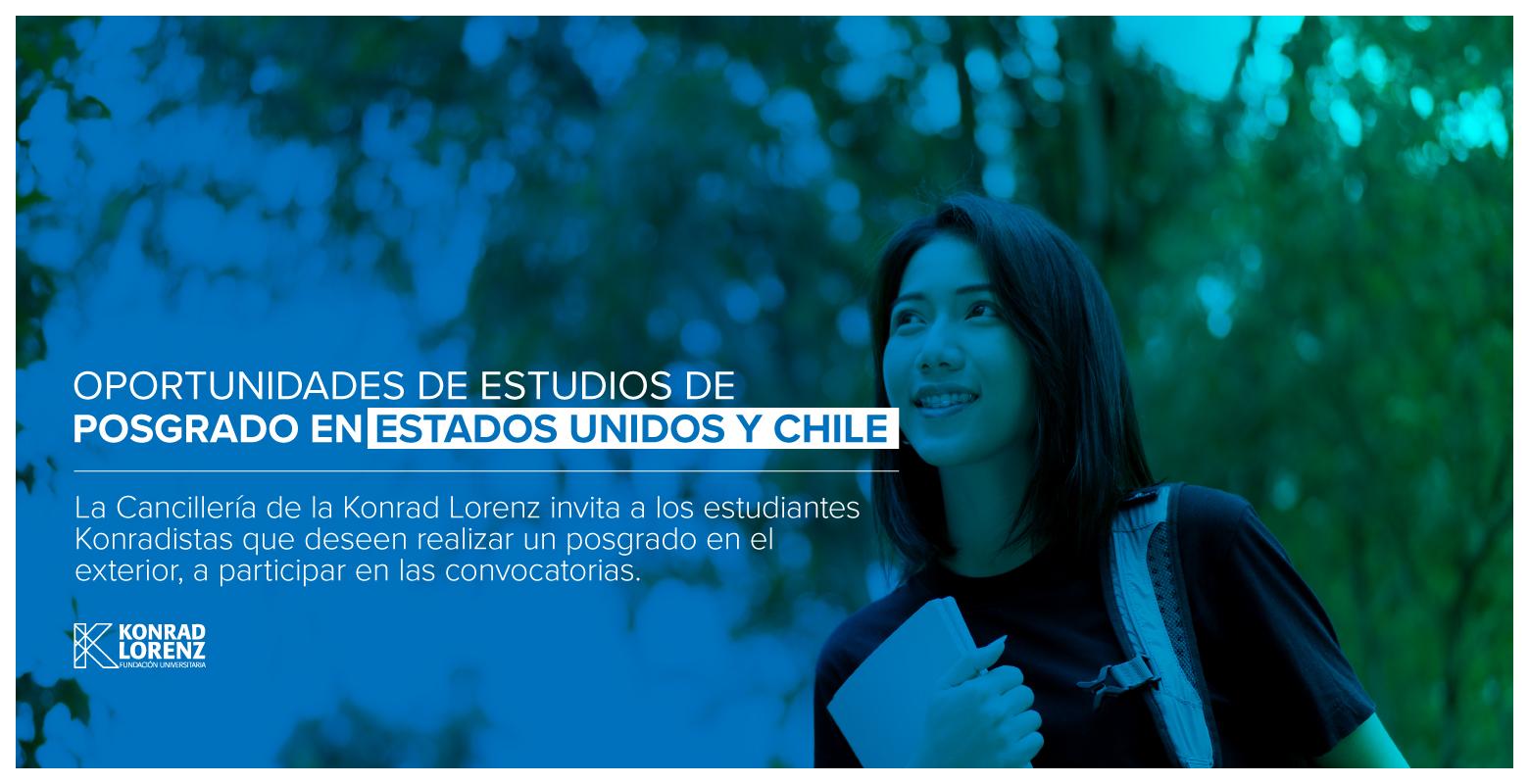 Oportunidades de Estudios de Posgrado en Estados Unidos y Chile