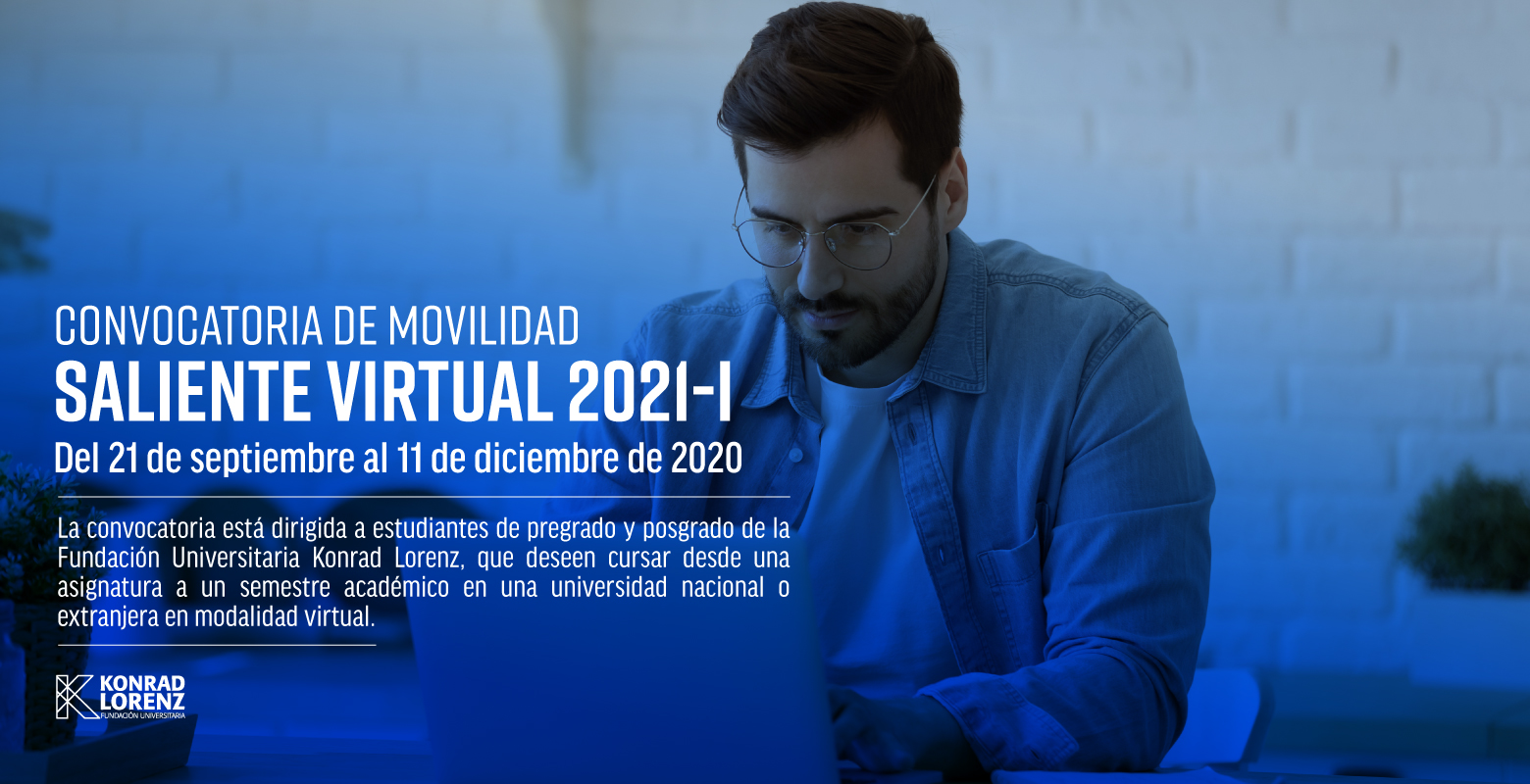 Convocatoria de Movilidad Saliente Virtual 2021-I
