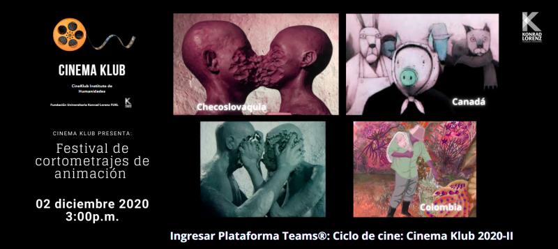 Cinema Klub cortos 02.12.2020
