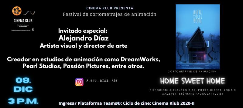 Cinema Klub cortos 09.12.2020