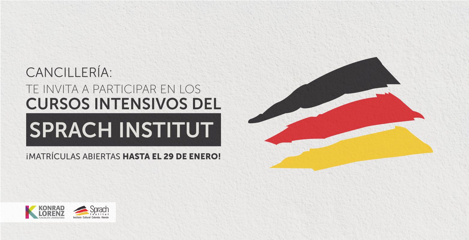 Cancillería: Participa en los Cursos Intensivos del Sprach Institut
