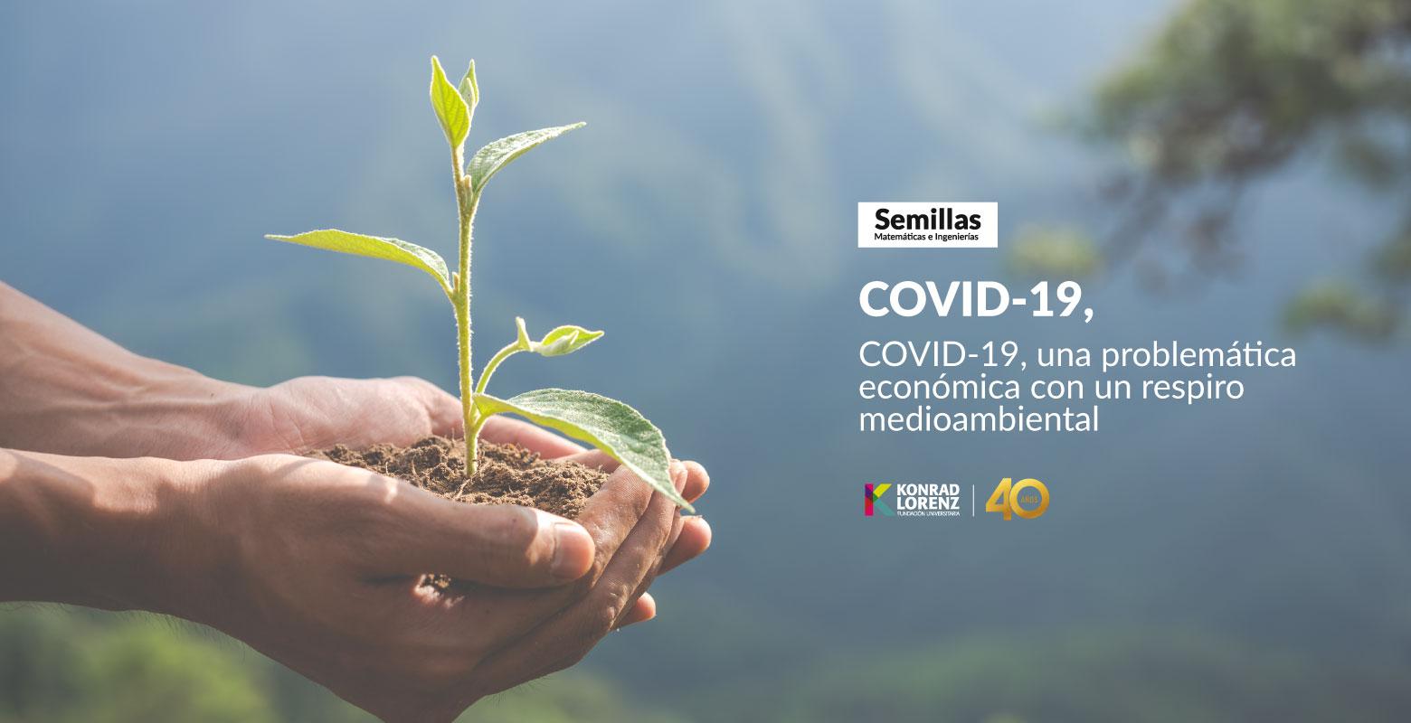 COVID-19, una problemática económica con un respiro medioambiental